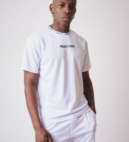 Tee-shirt en mesh broderie logo