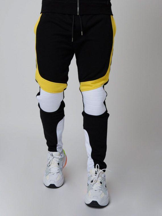 pantalon-de-jogging-velvet-et-fluo-empiecement-biker-homme-project-x-paris-1940034 (2)
