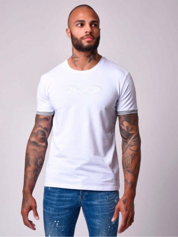 t-shirt-manches-courtes-revers-a-carreaux-aux-manches-1910058