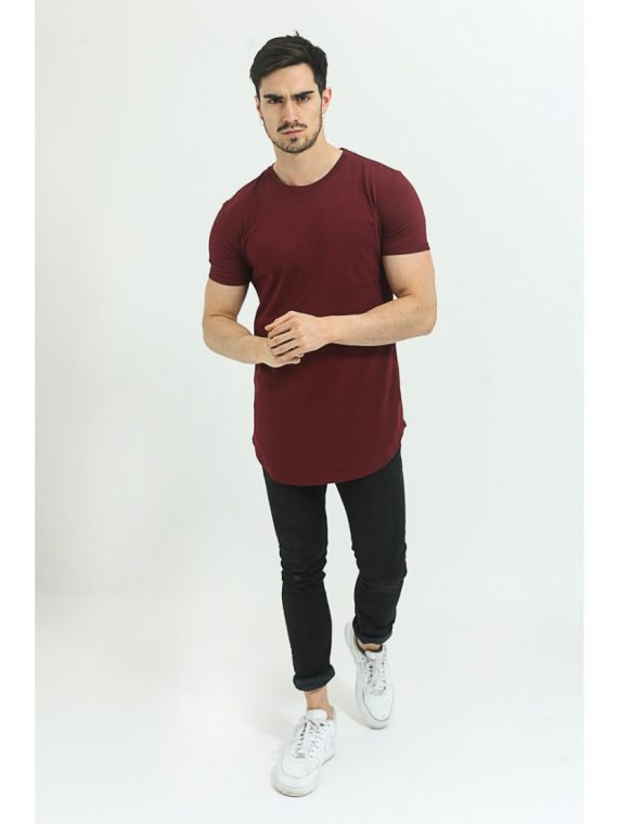 t-shirt-oversize-bordeaux-pour-homme-frilivin