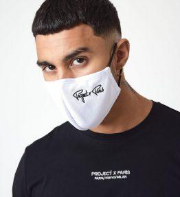 Masque pour le visage Broderie w