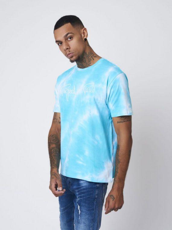 Tee-Shirt tie & dye broderie logo