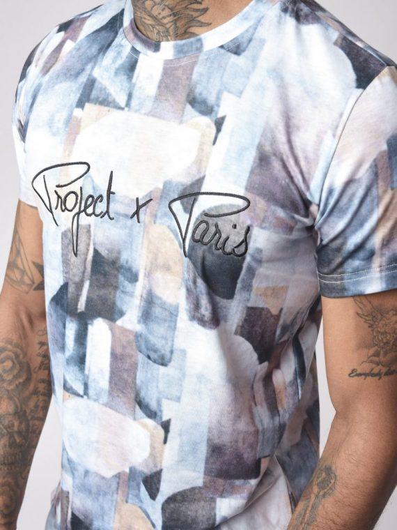 Tee-shirt motif abstrait logo