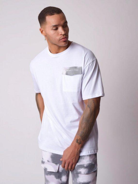 Tee-shirt ample rabat de poche