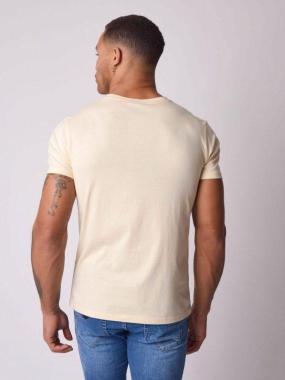 Tee-shirt avec logo relief irisé