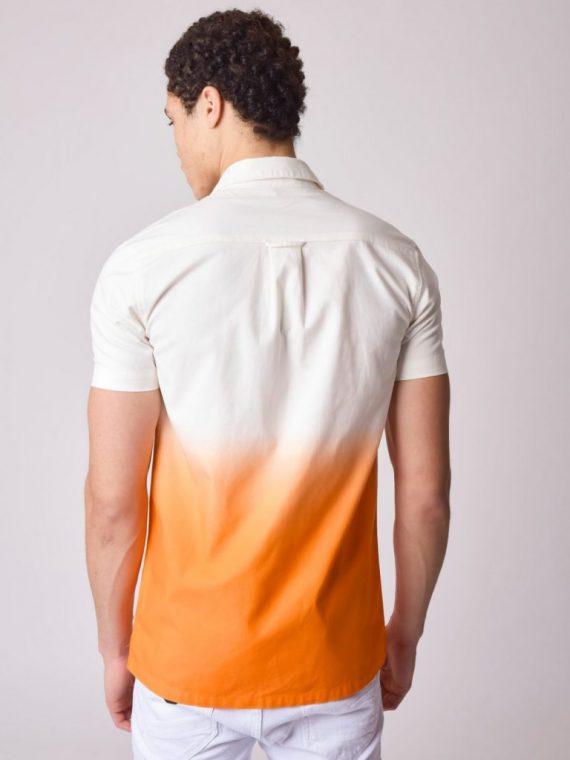 Chemise tie & dye dégradé