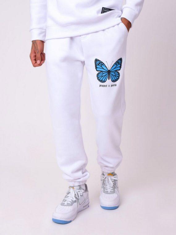Bas de jogging impression papillon