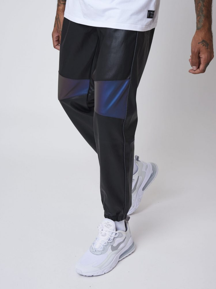 bas-de-jogging-simili-cuir-avec-empiecement-reflechissant-2040087-1