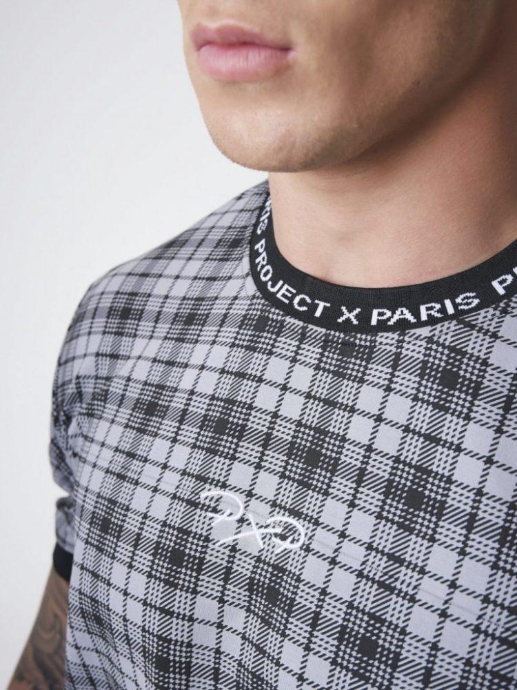 tee-shirt-manches-courtes-elstiquees-a-carreaux-noir-2010135 (3)