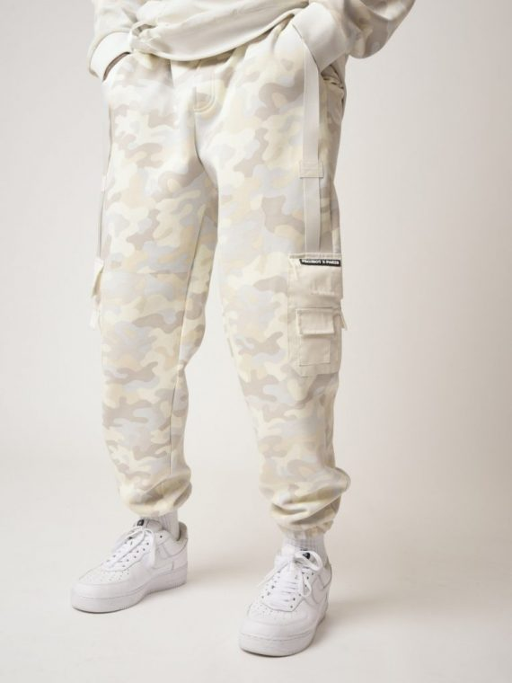 Bas de jogging print camouflage