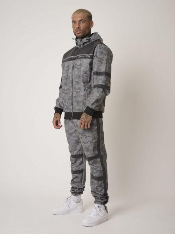 """Pantalon de jogging bi-matière réfléchissante motif camouflage """"CAMO REFLECT"""""""